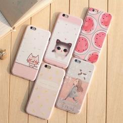 KANNITE - 印花手机套 - iPhone 6 / 6 Plus / 5