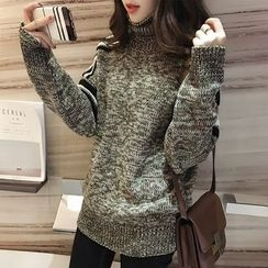 lilygirl - High Neck Sweater