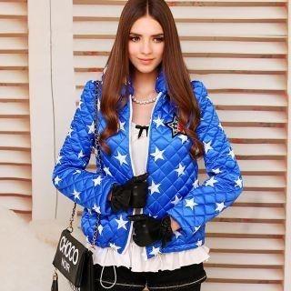 Dabuwawa - Star-Print Appliqué Quilted Jacket