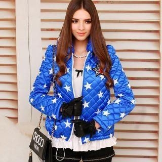 Dabuwawa - Star-Print Appliqué Quilted Jacket