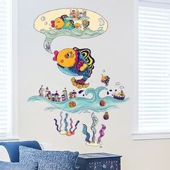 LESIGN - Fish Wall Stickers
