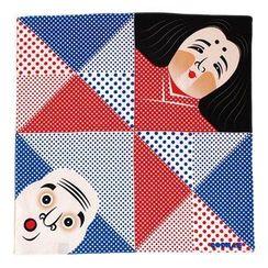 cochae - cochae : Fuku Cochae Wrapping Cloth (Okame Hyottoko)