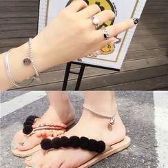 L for Love - Smiley Bracelet / Anklet