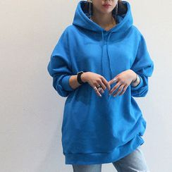 NANING9 - Colored Hooded Pullover