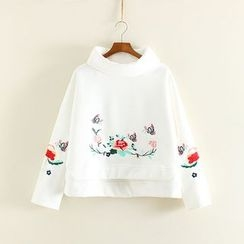 Mushi - Embroidered Sweatshirt