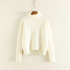 Mushi - Mock Neck Sweater