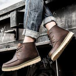Muyu - 系带及踝靴