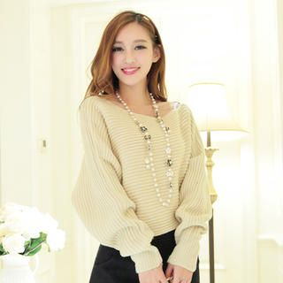 JK2 - Off-Shoulder Sweater