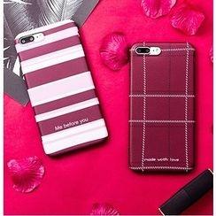 Casei Colour - 花紋手機套 - iPhone 7 / 7Plus / 6s / 6s Plus