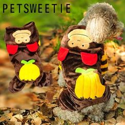 Pet Sweetie - Monkey Dog Hoodie