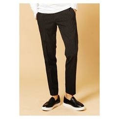 HOTBOOM - Slim-Fit Stripe Pants
