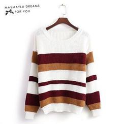 Maymaylu Dreams - Striped Sweater