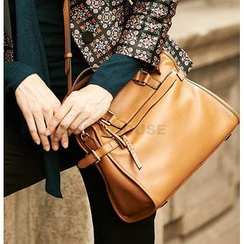 Emini House - Genuine Leather Hand Bag