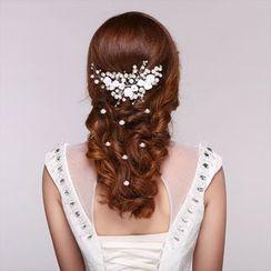 Suaylla - Pearl Floral Hair Pin