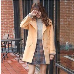 Tabla - Plain Knit Coat