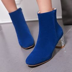 Gizmal Boots - Heeled Ankle Boots