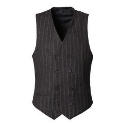 Mannmix - Pinstripe Knit Vest