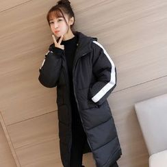 Colorful Shop - Hooded Padded Coat