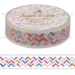 Aimez le style - Aimez le style Masking Tape Primaute Regular Mosaic Wave