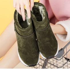 Shoeland - Fleece-lined Sneakers