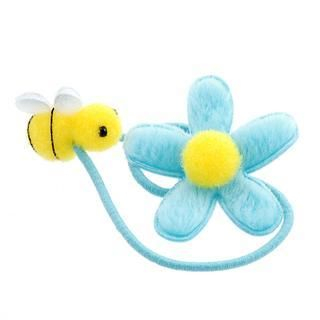 Fit-to-Kill - Blue flower with pretty bee hair band