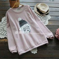 YOYO - Long-Sleeve Printed Top