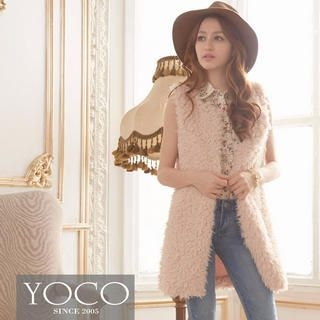Tokyo Fashion - Fleece Long Vest