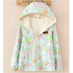 Citree - Double Sided Print Hooded Jacket