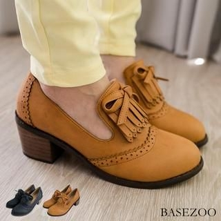 BaseZoo - Fringed Wing-Tip Oxfords