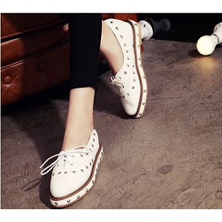BAYO - Studded Loafers