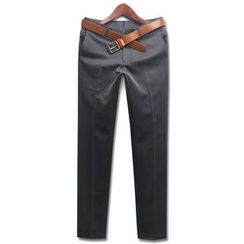 Seoul Homme - Plain Dress Pants