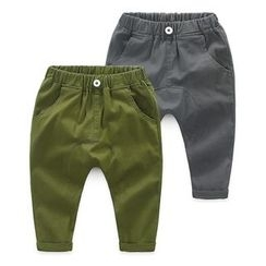 Seashells Kids - Kids Plain Band Waist Pants