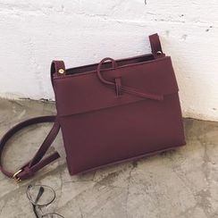 YUKISHU - Faux Leather Crossbody Bag