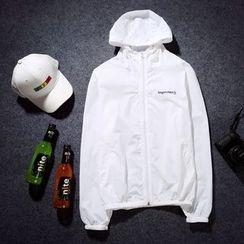 Esflow - 連帽字母外套