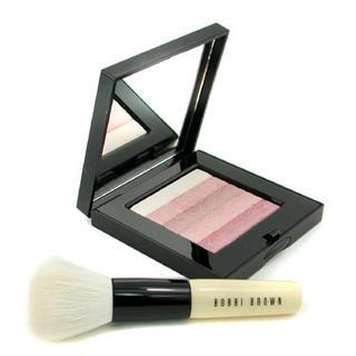 Bobbi Brown - Pink Shimmer Brick Set: Pink Shimmer Brick Compact + Mini Face Blender Brush (Limited Edition)