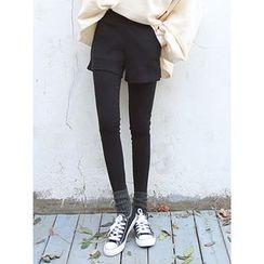 LOLOten - Inset Shorts Leggings