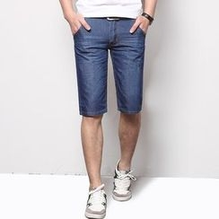 DUKESEDAN - Slim Fit Denim Shorts