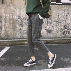 Eva Fashion - Plaid Harem Pants