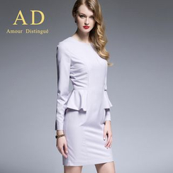 Aision - Peplum Dress / Blazer