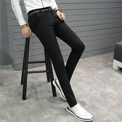 Bay Go Mall - Slim Fit Dress Pants