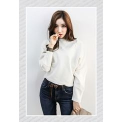 INSTYLEFIT - Boat-Neck Dolman-Sleeve T-Shirt