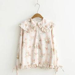 TOJI - 长袖印花衬衫