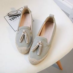 Laceuplux - 流苏轻便鞋