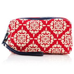 Vechel Bags - Patterned Cosmetic Bag