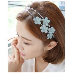 Miss21 Korea - Flower-Motif Hair Band
