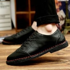 Easy Steps - Lace-Up Brogue Shoes