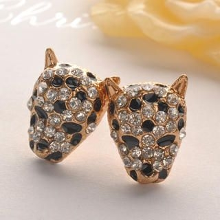 Fit-to-Kill - Cheetah Diamond Earring