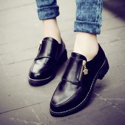 Sleeko - Faux-Leather Loafers