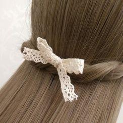 KOSUKE - Lace Bow-Accent Hair Stick