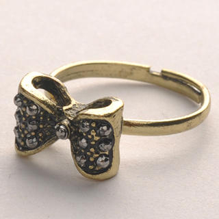 Fit-to-Kill - Vintage Bowknot Ring - Copper